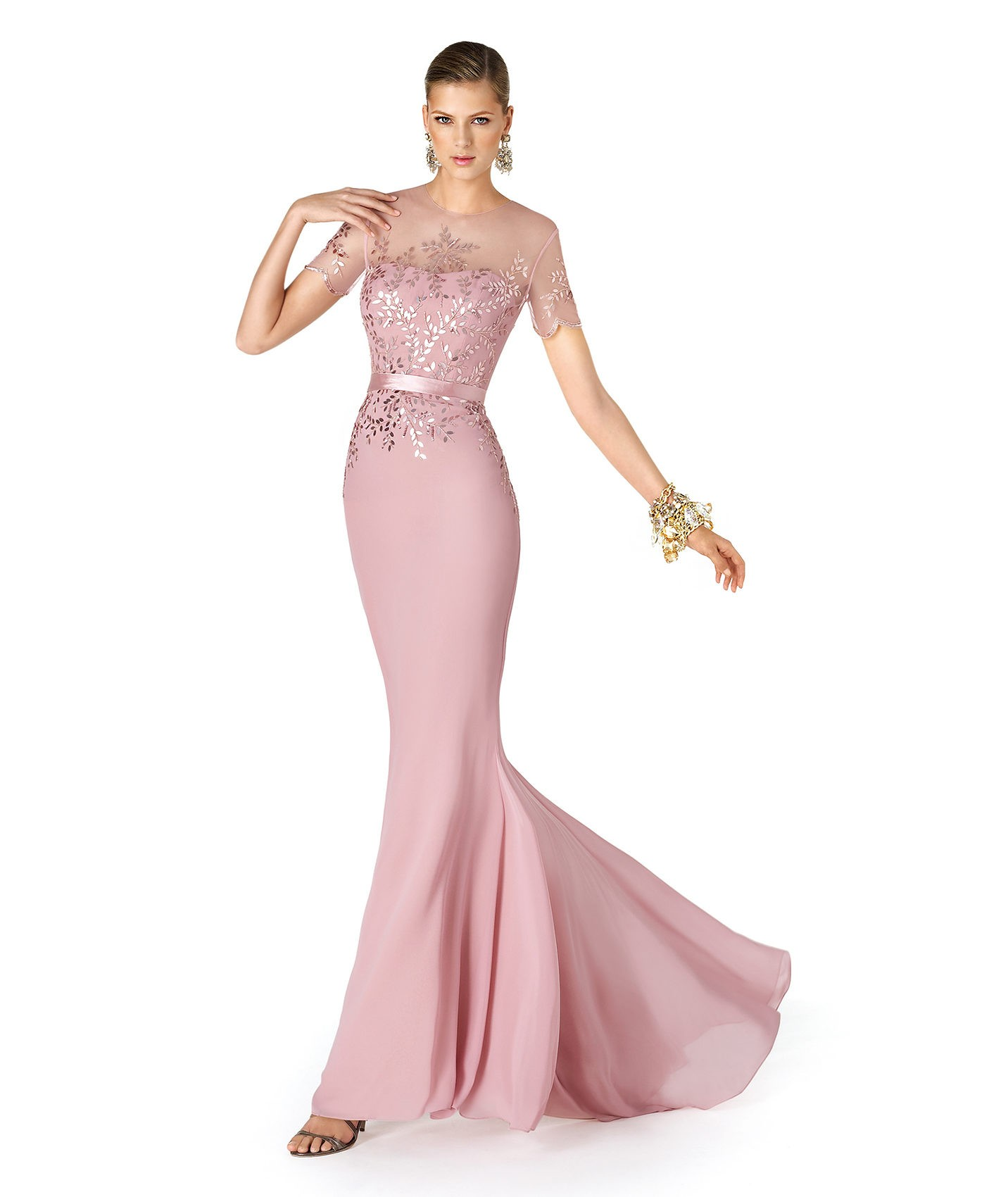 Long Mother of the Bride Dresses 2014
